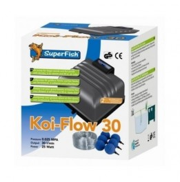 BOMBA DE AR Koi FLOW 30 1800 L/H KIT AIR