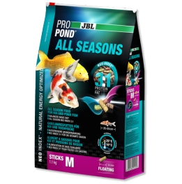 ALIMENTO Koi PROPOND JBL ALL SEASONS MEDIO 2,2 KG