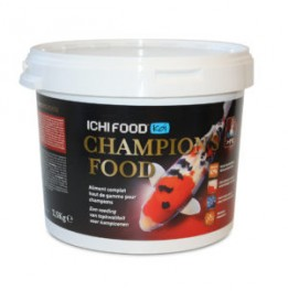 ALIMENTO KOI ICHI FOOD CHAMPION'S 4 MM DE 2,5 KG
