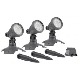 KIT Projecteur Oase Lunaqua 3 LED set 3