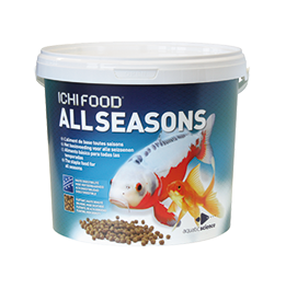 Alimento Ichi Food Winter 1 Kg de 2 mm para carpas Koi e peixes