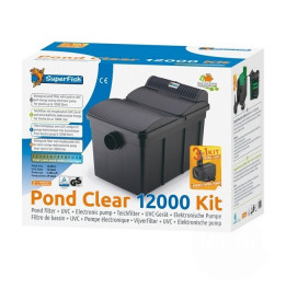KIT PONDCLEAR SUPERFISH 12000 FILTRO UVC 13W + LAGO ECO 4900