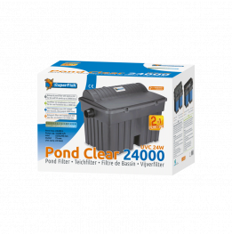 KIT PONDCLEAR SUPERFISH 24000 FILTRO UVC 24W + POND ECO 12000